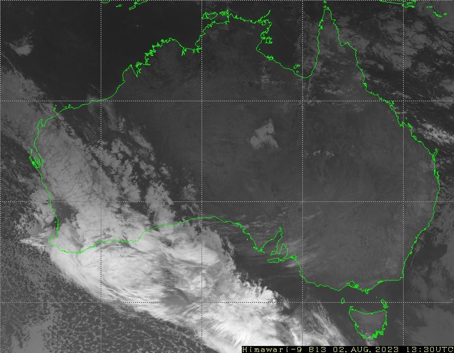 HIMAWARI - Avustralya - kızılötesi