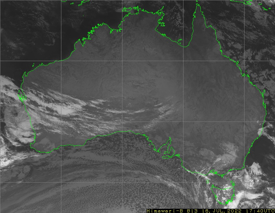 HIMAWARI - Austràlia - infraroja