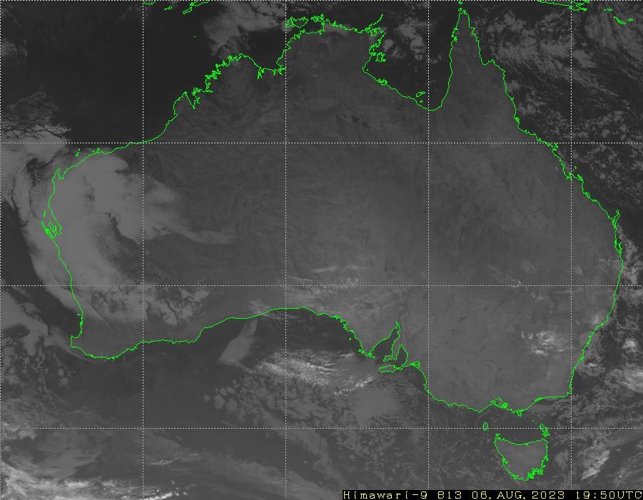 Himawari - Australie - infrarouge