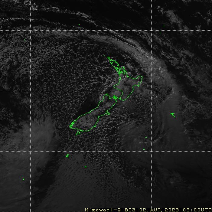 HIMAWARI - Naujoji Zelandija - matoma