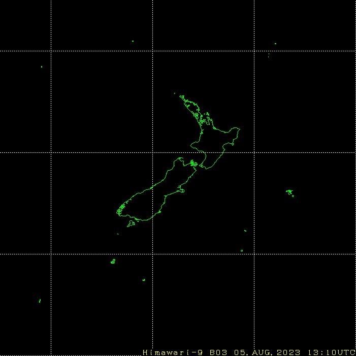 Himawari - Uusi-Seelanti - näkyvä