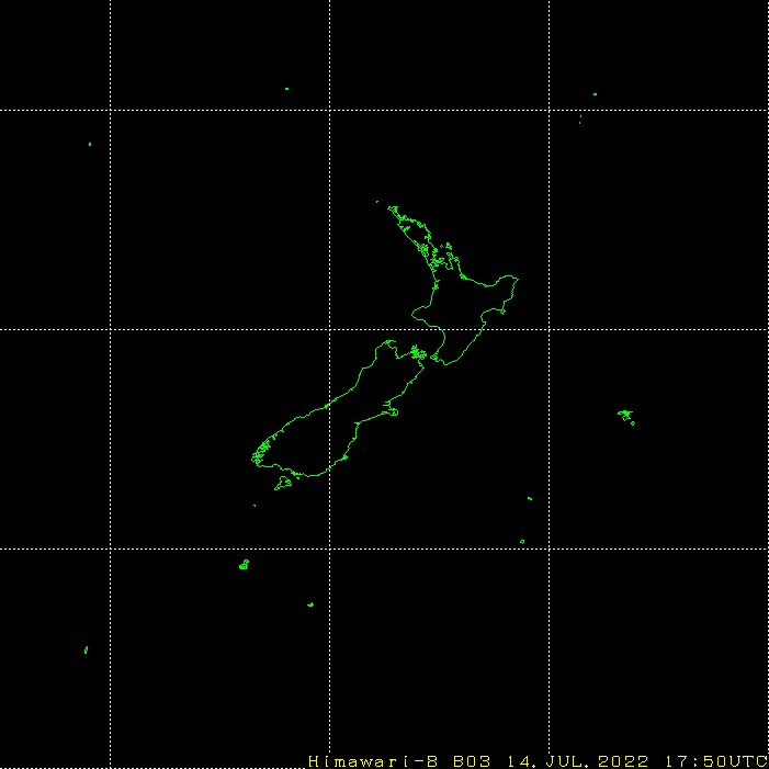 HIMAWARI - نيوزيلندا - مرئية