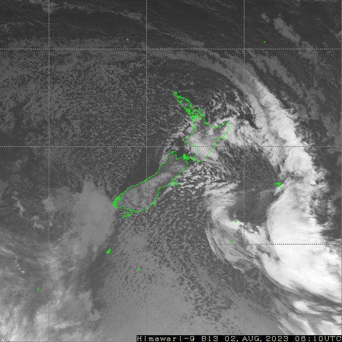 HIMAWARI - Νέα Ζηλανδία - υπερύθρων