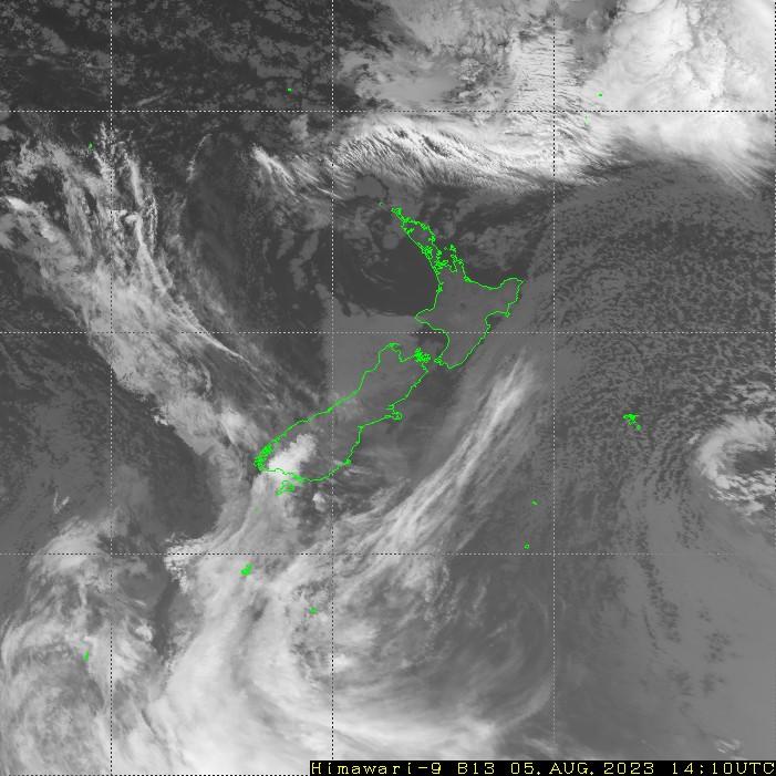 HIMAWARI - Nieuw-Zeeland - infrarood