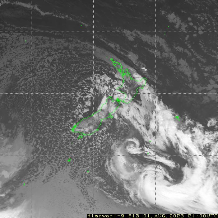 HIMAWARI - New Zealand - infrared