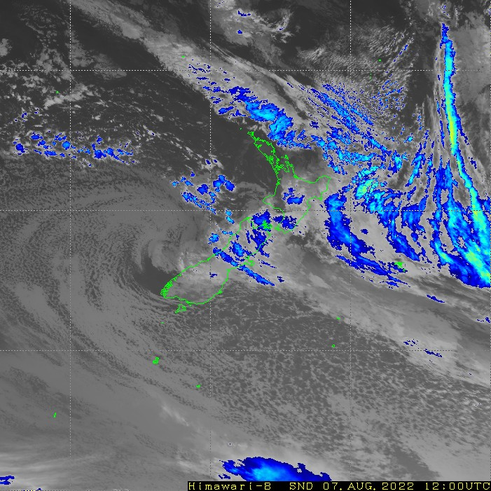 Infrared satellite imagery for 12:00am on 16 May 2021