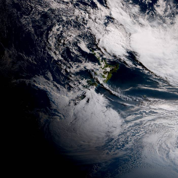 True colour satellite imagery for 9:00am on 22 June 2021