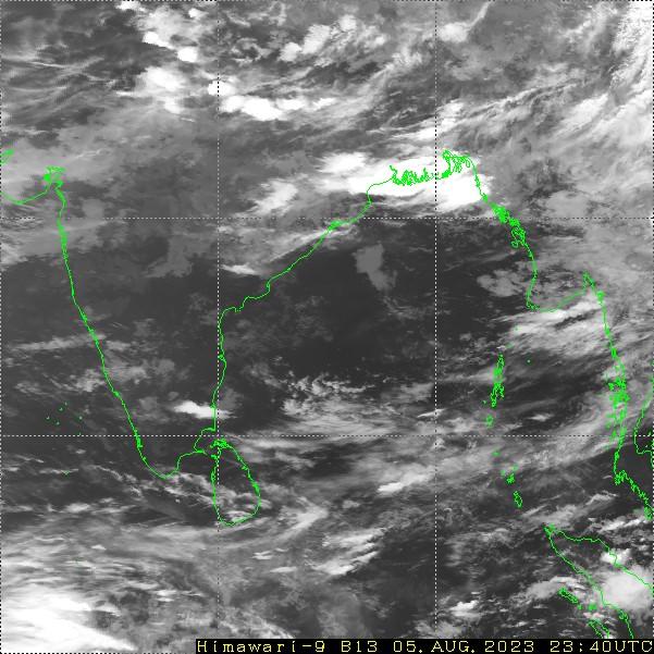 HIMAWARI - Índia - infraroja