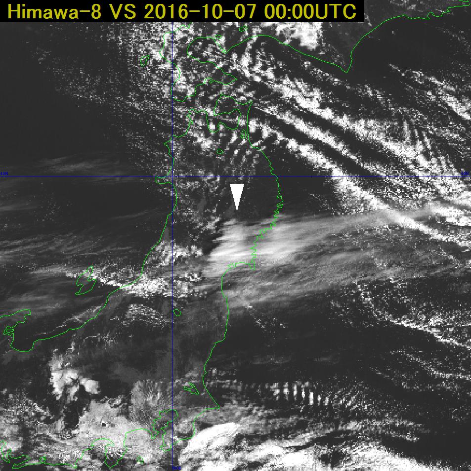 気象衛星センター | 地形性巻雲