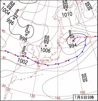 気象庁 | 台風第4号と梅雨前線に...