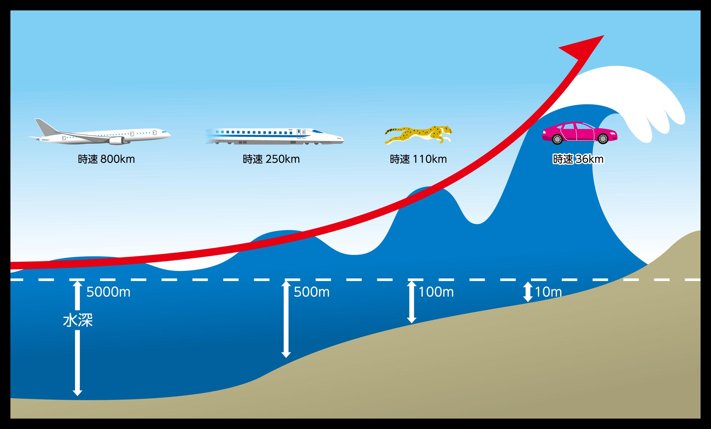 津波の仕組み